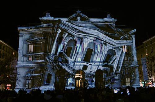 PROYECCION VIDEO MAPPING