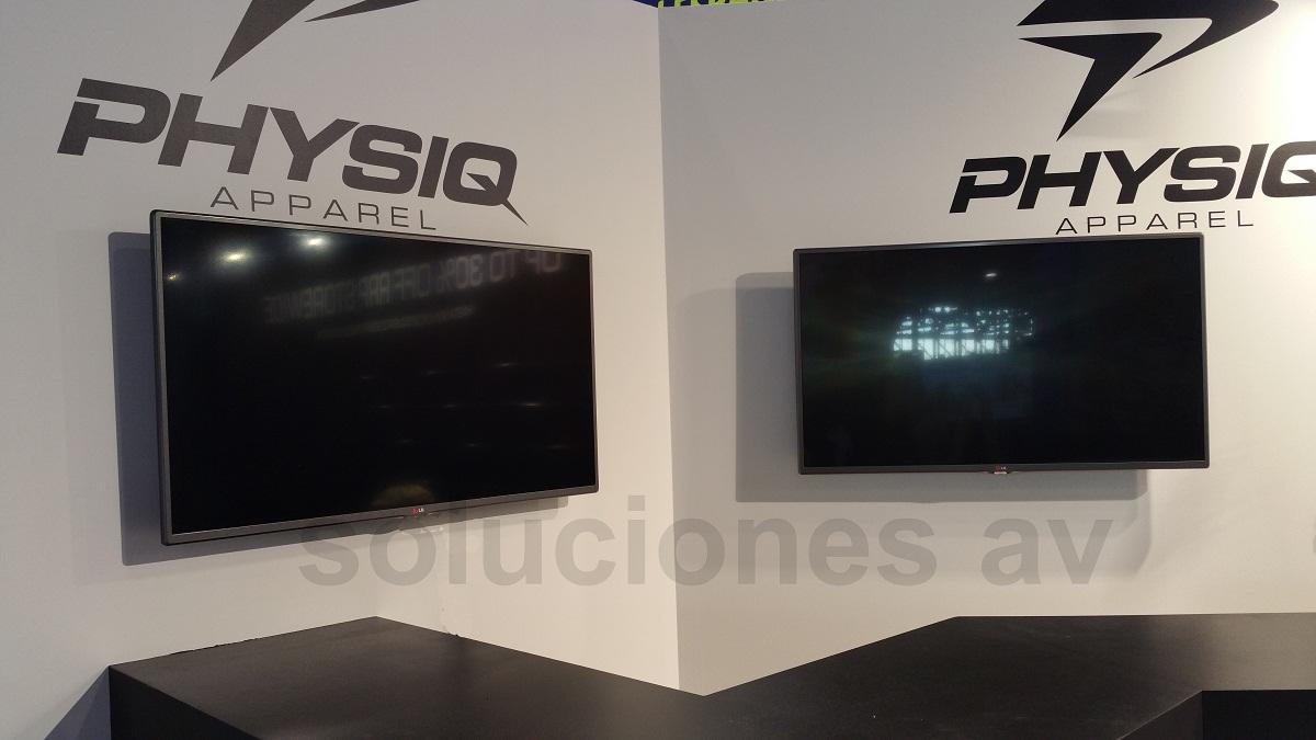 instalacion pantalla plasma en pared
